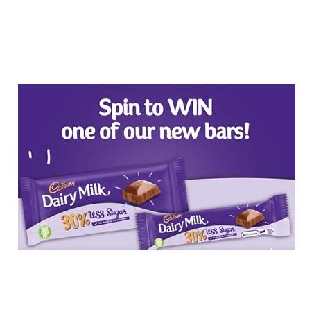 Free Cadbury Chocolate Bars