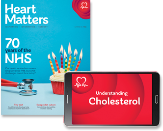 Free Hearts Matters Magazine from BHF