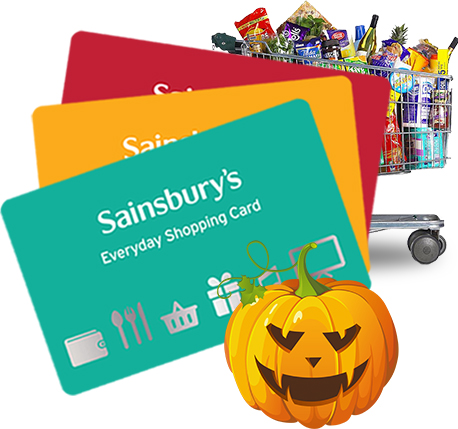 Sainsburys Halloween - Win £500 of gift vouchers
